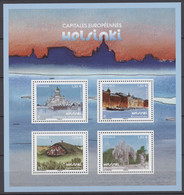 F5307 Y.T. Neuf ** Feuillet Helsinki  Capitales Européennes T.n° 5307 à  5310 - Mint/Hinged