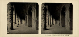 ROMA: COLOSSEO, VEDUTA DI UNA GALLERIA.  ESTEREOSCOPICA. STÉRÉOSCOPIQUE. STEREOSCOPIC - Stereoscopic