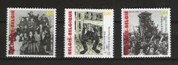 Zegels 3392 - 3394 ** Postfris - Unused Stamps