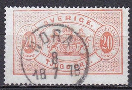 S321Bis – SUEDE – SWEDEN – 1874-1881 – PERF 14 – Y&T # 7B USED 90 € - Service