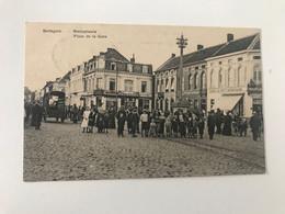 Carte Postale Ancienne (1910) Sottegem Statieplaats Place De La Gare - Zottegem