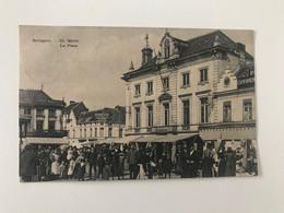 Carte Postale Ancienne (1910) Sottegem De Merkt - La Place - Zottegem