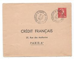 ENTIER POSTAL ENVELOPPE Marianne De Muller TSC CREDIT FRANCAIS - Standard Postcards & Stamped On Demand (before 1995)