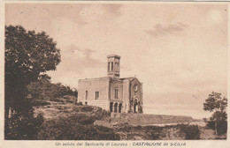 UN SALUTO DAL SANTUARIO DI LOURDES - CASTIGLIONE DI SICILIA - Catania