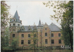 Grote Kaart Oostmalle Kasteel De Renesse Met Mooi Park Malle Kempen (In Zeer Goede Staat) - Malle