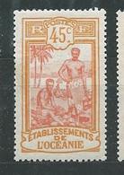 OCEANIE N° 32 * TB 1 - Unused Stamps