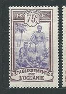 OCEANIE N° 34 * TB 1 - Unused Stamps
