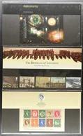 2002 PRESENTATION PACKS  The Bridges Of London, Astronomy Miniature Sheet, And Wilding 1st Miniature Sheet Presentation  - 1952-.... (Elisabetta II)