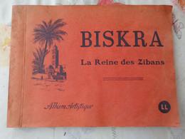 Album Artistique Biskra (Algérie) Avec 16 Vues ;format 29cm X 22cm - Géographie