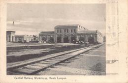 Maleisië 吉隆坡联邦直辖区 கோலாலம்பூர் Kuala Lumpur  Central Railway Workshops Station     M 5414 - Malaysia