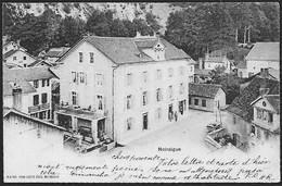 NOIRAIGUE - Centre Du Village Animé - NE Neuchâtel