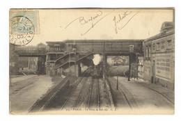 E476 - PARIS - La Gare De Bel Air - Arrivée Du Train - RARE - A Voir - 1905 - Pariser Métro, Bahnhöfe