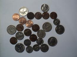 USA. LOT DE 27 PIECES DE MONNAIE DIFFERENTES. 1941 / 2004 - Andere