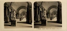 3 Paris, Louvre, Galerie Des Sculptures Antiques.  ESTEREOSCOPICA. STÉRÉOSCOPIQUE. STEREOSCOPIC - Stereoscopic