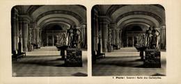 1 Paris, Louvre, Salle Des Cariatydes.  ESTEREOSCOPICA. STÉRÉOSCOPIQUE. STEREOSCOPIC - Stereoscopic