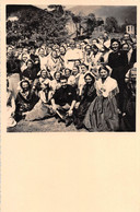 """1503 """"FOTO -IL FEDERALE GAZZONI ALLA FESTA DI FORNO ALPI GRAIE ANNO 1938 XVI"""" COSTUMI TIPICI - Guerra, Militari"""
