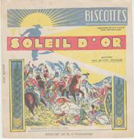 BUVARD BISCOTTES SOLEIL D' OR  Bonaparte à Rivoli - Zwieback