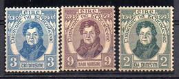 Serie  Nº 55/7 Irlanda - 1922-37 Stato Libero D'Irlanda