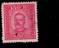 Por.75 Y B König Carlos I Gestempelt /used (1) - Used Stamps
