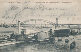 BONN -  1907 , Rheinbrücke Mit Bonn-Beuel - Non Classificati