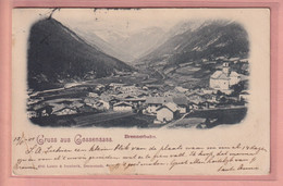 OLD POSTCARD  -   ITALY - GRUSS AUS GOSSENSASS - BRENNERBAHN 1901 - Bolzano (Bozen)
