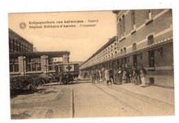 ANTWERPEN - Krijgsgasthuis - Hôpital Militaire- Ziekenwagen - Hermans Kaart - Antwerpen