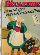 BD - Bécassine Prend Des Pensionnaires - Illustrations Pinchon, Texte Caumery - Editions Gautier-Languereau 1951 - Bécassine