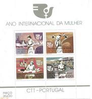 TIMBRES - STAMPS - PORTUGAL -1975- ANNÉE INTERNATIONALE DE LA FEMME - SÉRIE AVEC TIMBRES NEUFS - Otros