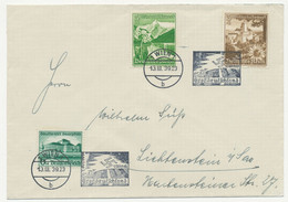 Deutsches Reich Michel No. 673, 675, 677 Auf Brief Sonderstempel Großdeutschland - Covers & Documents