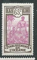 OCEANIE N° 71NSG  TB - Unused Stamps