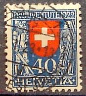 Schweiz Suisse Pro Juventute 1922: Ritter+Soldat Zu WI24 Mi 178 Yv 191 Mit Voll-Stempel BASEL ?.I.23 (Zu CHF 110.00) - Used Stamps
