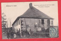 VOSGES PRINCIPAUTE DE SALM SALM CHATEAU ST LOUIS FRONTIERE FRANCAISE SENONES 1906 - Senones