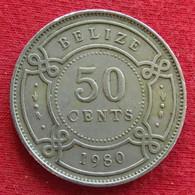 Belize 50 Cents 1980 KM# 37  Beliz Belice - Belize