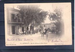 Algérie. Affreville. Rue De Miliana Et Place Carnot - Andere Städte