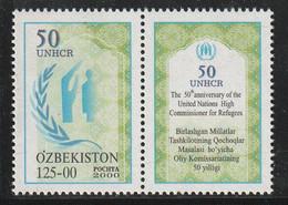 OUZBEKISTAN - N°185 ** (2000) UNHCR - Uzbekistán