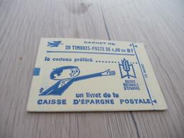 Carnet TP France 1536 B C 2 Type Cheffer - Usados Corriente