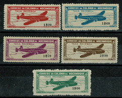 Moçambique, 1946, # 11/15, Aéreo, MH - Mosambik