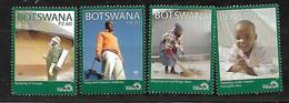 BOTSWANA 2011 MALARIA PREVENTION CAMPAIGN SET MNH - Botswana (1966-...)