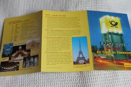 EXPO 2000 Hannover; Gedenkblatt Der Deutsche Post 2000 - 2000 – Hannover (Duitsland)