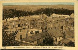 032 415 - CPA - France (51) Marne - Sainte-Menehould - Les Hauteurs - L'Hôtel De Ville - Sainte-Menehould