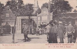 237849Baarn, Oud Hollandsch Marktplein 22-30 Juli 1908 (poststempel 1908)(zie Hoeken) - Baarn
