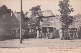 237850Baarn, Oud Hollandsch Marktplein 22-30 Juli 1908 (poststempel 1908)(zie Hoeken) - Baarn