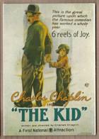 CPM Illustrée AFFICHE CINEMA FILM THE KID CHARLIE CHAPLIN - Manifesti Su Carta