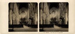 13 Malines, Interieur De St. Rombant. ESTEREOSCOPICA. STÉRÉOSCOPIQUE. STEREOSCOPIC - Stereoscopic