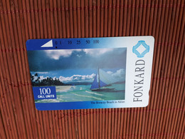 Phonecard 100 Units Philipines Used Rare - Filippine