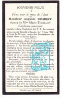 DP Im. Mort. - Gendarme Rijkswacht - Aug. Dumont ° 1854 † Bande Nassogne Prov. Lux. 1932 X Marie Toussaint - Andachtsbilder