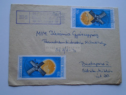 D173937 Hungary    Cover Ca 1964   Space - Mariner 4 Stamp - Hungary