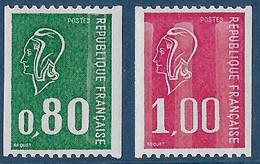 Yv 1894-1895 - 1976 - Provenant De Roulettes - 1971-76 Marianne Of Béquet