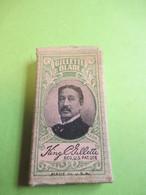 Etui Carton Pour 5 Lames De Rasoir/Sans Lames /GILLETTE Blade/ Gillette Safety Rasor Company/USA/Vers 1910-1930  PARF218 - Lamette Da Barba