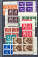 Nrs. 701/709 Postgaaf ** MNH In Blok Van 4 PRACHTIG 22 Côte - Nuevos